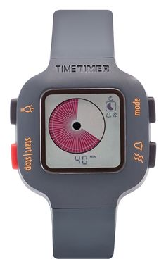 Time Timer Watch Plus kindermaat donkergrijs