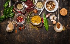 Use this guide on how to match the right herbs and spices with the right vegetables to make your most amazing meals yet!