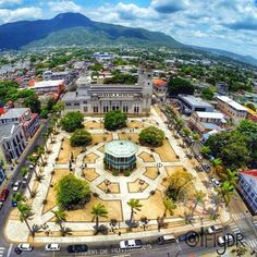 Puerto Plata, Dominican Republic (aerial view)