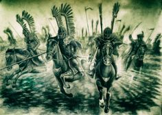 Husaria (Winged Hussars Charge) by rysukris