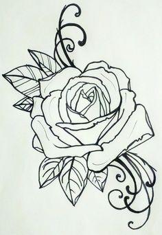 Nice Rose Design