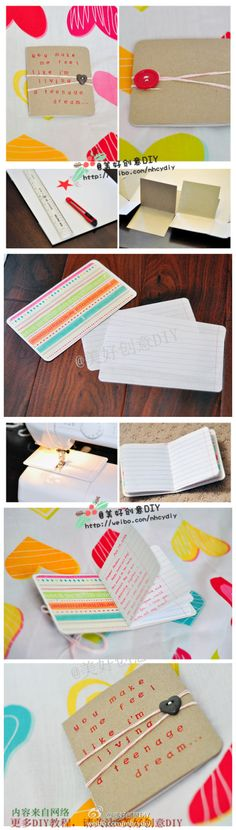 DIY cute journal