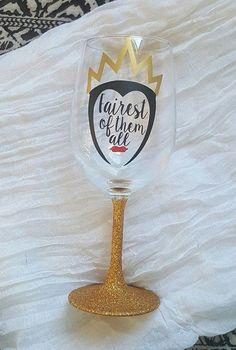 Evil Queen - Disney Villains Wine Glass