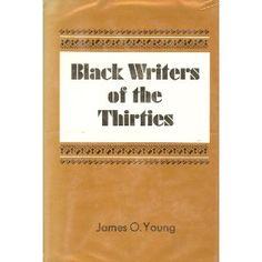 Black writers of the thirties