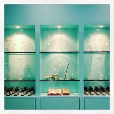 Design for lab in Cristina Sammarco Window Display Design, Window Displays, Elba Island, Lab, Photo Wall, Perfume, Windows, Frame, Projects
