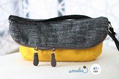"""Wir lieben die Farbkombination: die Tasche von """"tansha"""" ist echt cool! Wer will sie haben?"""