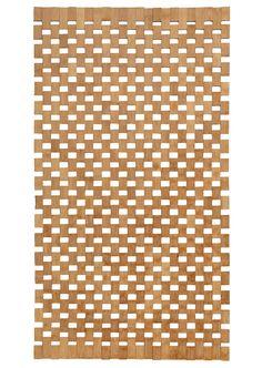 Bamboo bathroom rug