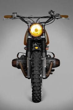 BMW R45 Custom Motorcycle.