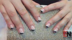 French schwarz weis Silver Rings, Nails, Beauty, Jewelry, Fashion, Black, Finger Nails, Moda, Jewlery