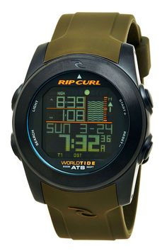 Rip Curl Pipeline Tide Watch Always On Time, Rip Curl, Buy Now, Surfing, Brand New, Watches, Luxury Watches, Wristwatches, Surf