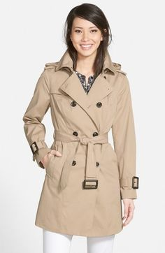 89236960c32f1 London Fog Heritage Trench Coat with Detachable Liner (Regular  amp  Petite)  (Nordstrom