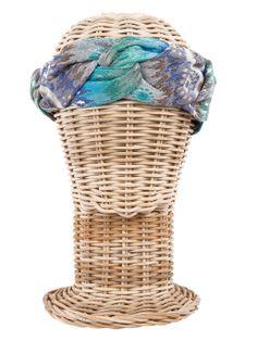 Turbante FORMENTERA / Hippie, boho-chic, ethnic style. Fashion, Casual Style. Rosebell brocade turban - Beach style