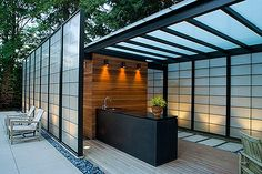outdoor kitchen, wow