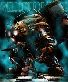 Big Daddy and Little Sister (BioShock)
