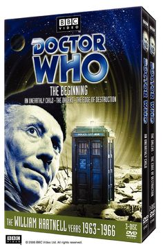 Doctor Who - The Beginning (includes #001 - An Unearthly Child, #002 - The Daleks, #003 - The Edge of Destruction) I NEED THIS!