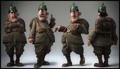 Little soldier by Alessandro Baldasseroni   3D   CGSociety
