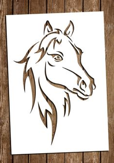 Horse SVG Cutting Files PDF Papecaballo r caballo Cutting by DreamyMarimmy on Etsy Horse Stencil, Stencil Art, Horse Drawings, Art Drawings, Paper Cutting Templates, Scroll Saw Patterns Free, Wood Carving Designs, Stencil Patterns, Horse Art