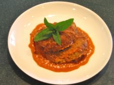 Meatless Mondays Gluten Free recipe: Moroccan  chickpea cakes with roasted red pepper coconut curry sauce www.aveganchef.com