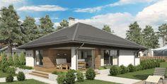 Proiect de casa parter SHC 151 - Smart Home Concept One Floor House Plans, Floor Plans, House Architecture Styles, Plan Design, Smart Home, Gazebo, Outdoor Structures, Concept, Flooring