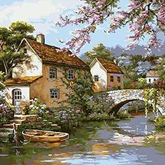 Cheap diy painting, Buy Quality painting diy directly from China diy canvas painting Suppliers: DIY Painting By Numbers No Frame Drawing Kits Paint On Canvas Unique For Home Wall Art Picture Marilyn Monroe Living Room Canvas Painting, Oil Painting On Canvas, Diy Painting, Lake Painting, Painting Classes, Online Painting, Canvas Paintings, Wall Art Pictures, Canvas Pictures