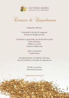 Cenone di Capodanno! #food