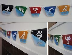 Free Printable: Winter Olympics Party Banner from DolledUpDesign Office Olympics, Summer Olympics, Olympic Idea, Olympic Games, Vive Le Sport, Olympic Crafts, Winter Games, Thinking Day, Party Themes