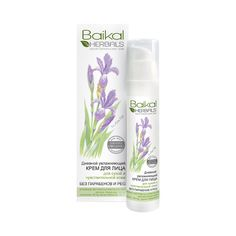 Moisturizing day face cream for dry or sensitive skin Baikal Herbals