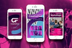 Dynamic Fresh Gradient Combination for your creative event content more standout. this template pack suitable for various event sets, exhibitions, conferences, Identity Card Design, Free Fonts Download, Banner Vector, Social Media Design, Flyer Design, Instagram Story, The Help, Workshop, Photoshop