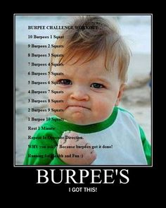 Burpee Challenge! Ahh - can you do it?
