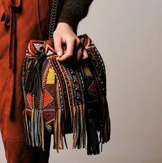 BOOM BAG #antikbatik #beads #fringe #boho #bohemian #gypsy #ethnic #handmade #ethic #fashion #autumn #winter #collection #aw15 #bag