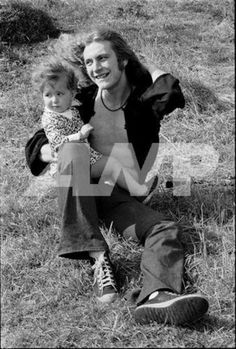 Robert Plant of Led Zeppelin with his son Karac #RobertPlant #LedZeppelin
