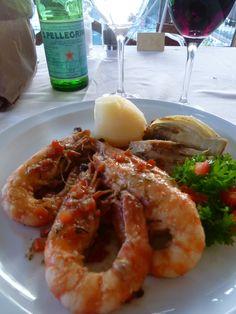 """Cena, Ristorante di """"Hotel Porto Roca"""", Monterosso al Mare, Liguria Italia (Luglio)"""