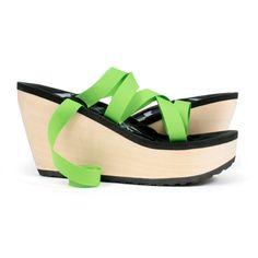 MOHOP shoes: MOKOBO high slide handmade vegan shoe