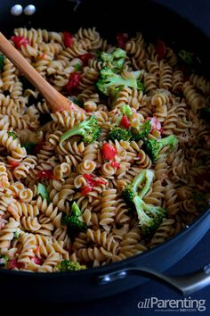 allParenting Rotini with chicken and broccoli