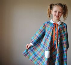 1960s Plaid swing dress size 6/7/8 by salvagehouse on Etsy, $22.00