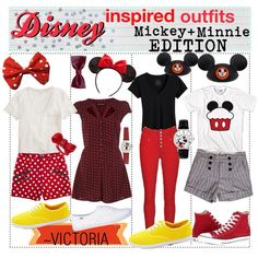 Mickey and Minnie Fashion
