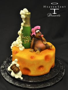 Cheese and Mouse Cake