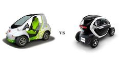 Toyota COMS vs Renault Twizy - Small City Electric Vehicles EV Hd Wallpapers Of Cars, Electric Cars, Scooters, Toyota, Vans, City, Vehicles, Cars, Autos