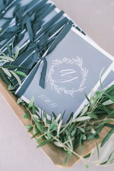 If you weren't already considering Greece for your destination wedding—you're definitely about to be. Alexia and Jeremy's Santorini nuptials are n Wedding Vendors, Wedding Blog, Wedding Styles, Destination Wedding, Wedding Ideas, Santorini Island, Santorini Wedding, White Ribbon, Wedding Stationery