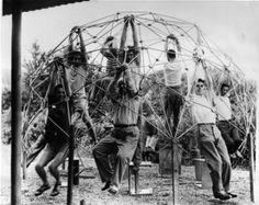 Geodesical cupule first model. Buckminster Fuller