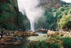 One of Moroccos natural wonders  the stunning Ouzoud waterfalls. Not only the place amazes with its rapid cool water cascades but with proximity of wild life. Dont be surprised of monkeys who come to make friends with you.  Pinterest // carriefiter  // 90s fashion street wear street style photography style hipster vintage design landscape illustration food diy art lol style lifestyle decor street stylevintage television tech science sports prose portraits poetry nail art music fashion style…