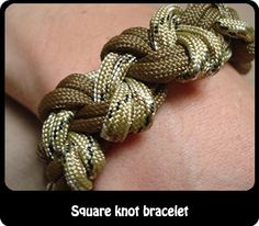 Webelos:  Craftsman Non-wood project AND helps them to work on their square knot needed for Boy Scouts