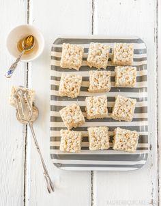Salted Honey Rice Krispies Treats