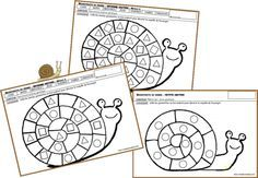 Elevage d'escargots Activities For Kids, Crafts For Kids, Snail Craft, Petite Section, School Items, Classroom Inspiration, Worms, Coloring Pages, Toddler Activities