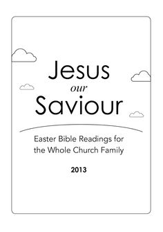 Easter programs with suggested skits, scripture readings