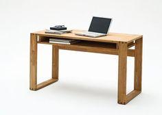 Innovation Schreibtisch Cento Eiche massiv, geölt Bild 1