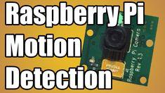Simple Raspberry Pi motion detection script written in Python.