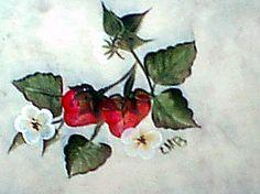 Kitchen tile - strawberries #3