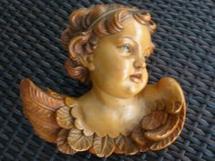 {6 Antique & Vintage Italian Angels, Cherubs Putti}