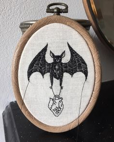 """3,204 Likes, 23 Comments - Carrie Violet (@memorialstitches) on Instagram: """"I've just listed some new pieces and a small bat themed store update """""""
